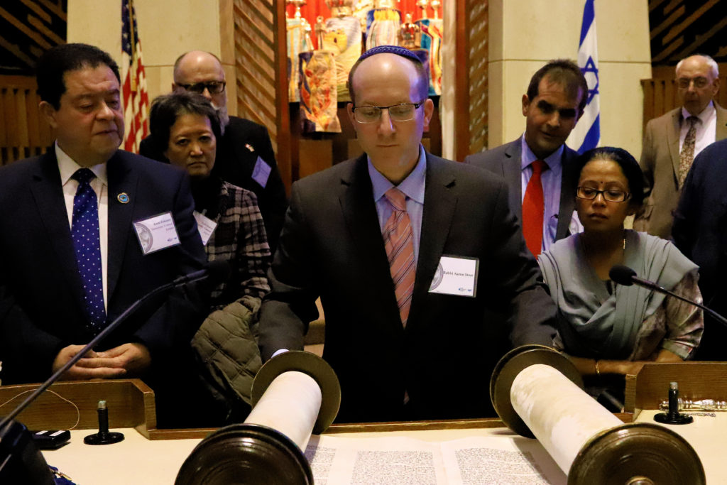 Diplomatic Seder Photo Gallery