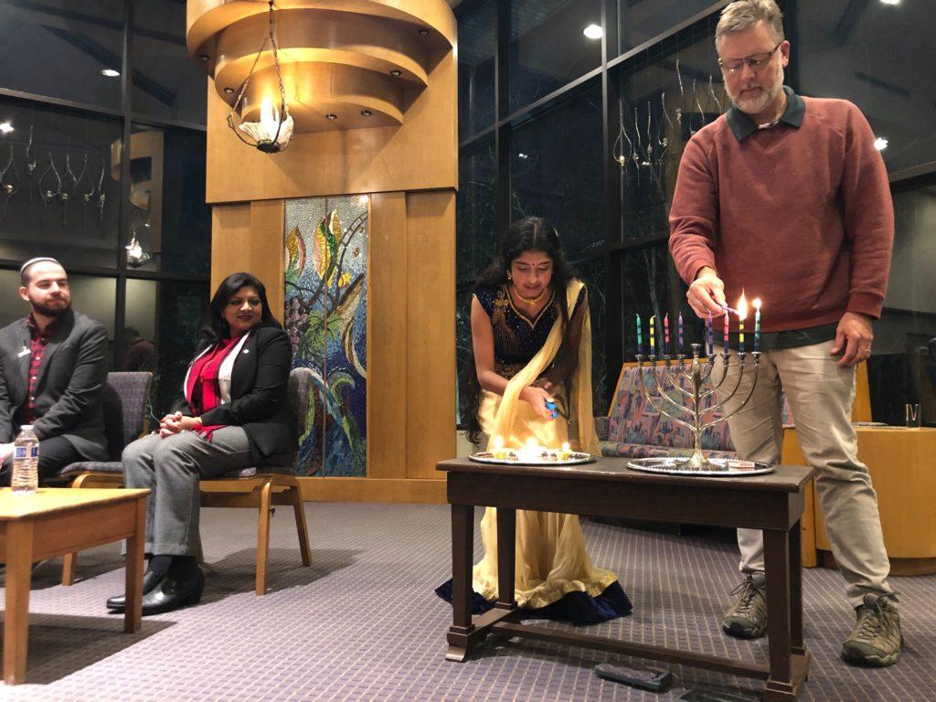A Hanukkah-Diwali Fireside Chat